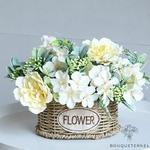 Décorations Table dHonneur Mariage Champêtre | Fleurs Artificielles | Pivoines Artificielles | Bouqueternel