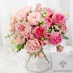 Décoration Centre de Table Mariage Pas Cher | Fleurs Artificielles | Renoncules Artificielles | Bouqueternel