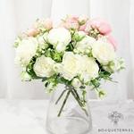 Décoration Centre de Table pour Mariage Pas Cher | Fleurs Artificielles | Renoncules Artificielles | Bouqueternel