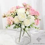 Décorations de Centre de Table pour Mariage Pas Cher | Fleurs Artificielles | Renoncules Artificielles | Bouqueternel