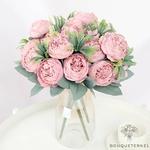 Centre de Table en Fleur pour un Mariage Champêtre | Fleurs Artificielles | Renoncules Artificielles | Bouqueternel