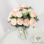 Centre de Table de Fleur pour Mariage Champêtre | Fleurs Artificielles | Renoncules Artificielles | Bouqueternel