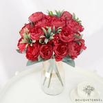 Centre de Table de Fleur Mariage Champêtre | Fleurs Artificielles | Renoncules Artificielles | Bouqueternel