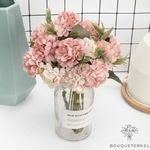 Décorations de Tables Rondes pour Mariage | Fleurs Artificielles | Hortensias Artificiels | Bouqueternel