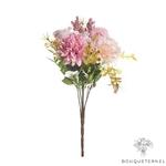 Centre de Table pour Mariage Bohème Chic | Fleurs Artificielles | Hortensias Artificielles | Bouqueternel