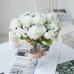 Centre de Tables pour Mariage Bohème Chic | Fleurs Artificielles | Hortensias Artificielles | Bouqueternel