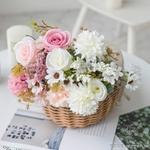 Centres de Table Mariage Bohème Chic | Fleurs Artificielles | Hortensias Artificielles | Bouqueternel