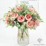 Centre de Table Fleurs Artificielles Mariage | Fleurs Artificielles | Œillets Artificiels | Bouqueternel