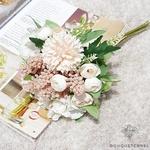 Centre de Table Mariage style Bohème | Fleurs Artificielles | Hortensias Artificiels | Bouqueternel