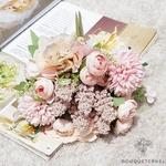 Centre de Table pour Mariage Bohème | Fleurs Artificielles | Hortensias Artificiels | Bouqueternel