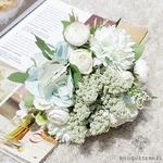 Centre de Table pour Mariage style Bohème | Fleurs Artificielles | Hortensias Artificiels | Bouqueternel