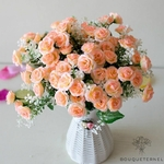 Composition Florale Centre de Table Pas Cher | Fleurs Artificielles | Renoncules Artificielles | Bouqueternel