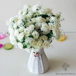 Compositions Florale Centre de Table Pas Cher | Fleurs Artificielles | Renoncules Artificielles | Bouqueternel