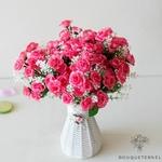 Compositions Florale pour Centre de Table Pas Cher | Fleurs Artificielles | Renoncules Artificielles | Bouqueternel