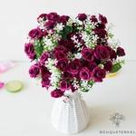 Compositions Florale pour  Centres de Table Pas Cher | Fleurs Artificielles | Renoncules Artificielles | Bouqueternel