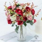 Centre de Table Mariage Chic Pas Cher | Fleurs Artificielles | Roses Artificielles | Bouqueternel