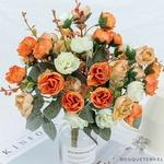 Centre de Table pour Mariage Chic Pas Cher | Fleurs Artificielles | Roses Artificielles | Bouqueternel