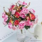 Centre de Tables pour Mariage Chic Pas Cher | Fleurs Artificielles | Roses Artificielles | Bouqueternel