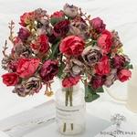 Centres de Table Mariage Chic Pas Cher | Fleurs Artificielles | Roses Artificielles | Bouqueternel