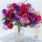 Centres de Tables pour Mariage Chic Pas Cher | Fleurs Artificielles | Roses Artificielles | Bouqueternel