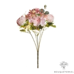 Centre de Table en Fleur artificielle Champêtre   Fleurs Artificielles   Roses Artificielles   Bouqueternel