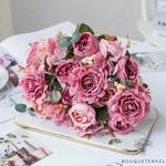 Centre de Tables Fleur Champêtre   Fleurs Artificielles   Roses Artificielles   Bouqueternel