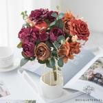 Centres de Table Fleur Champêtre   Fleurs Artificielles   Roses Artificielles   Bouqueternel