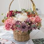 Centres de Tables Fleur Champêtre   Fleurs Artificielles   Roses Artificielles   Bouqueternel