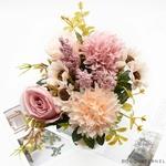 Centre de Table de Mariage Nature Chic | Fleurs Artificielles | Roses Artificielles | Bouqueternel