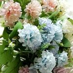 Bouquet Artificiel Hortensia Artificielle Bouqueternel