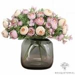 Centre de Table Mariage Pas Cher | Fleurs Artificielles | Renoncules Artificielles | Bouqueternel