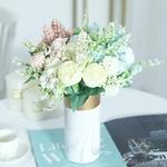 Déco Centre de Table Mariage Pas Cher | Fleurs Artificielles | Hortensias Artificiels | Bouqueternel