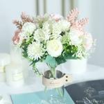 Déco Centre de Table pour Mariage Pas Cher | Fleurs Artificielles | Hortensias Artificiels | Bouqueternel