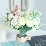 Décoration Centre de Table de Mariage Pas Cher | Fleurs Artificielles | Hortensias Artificiels | Bouqueternel