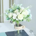 Décoration Centre de Table Mariage Pas Cher | Fleurs Artificielles | Hortensias Artificiels | Bouqueternel