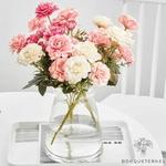 Centre de Table Ronde Mariage | Fleurs Artificielles | Renoncules Artificielles | Bouqueternel