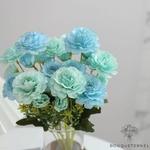 Centres de Tables Ronde de Mariage | Fleurs Artificielles | Renoncules Artificielles | Bouqueternel