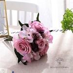 Bouquet de Mariée Artificiel Pas Cher Violet Pâle | Fleurs Artificielles | Renoncules Artificielles | Bouqueternel