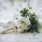 Bouquet Mariée Pivoine et dEucalyptus | Fleurs Artificielles | Pivoine Artificielle | Bouqueternel