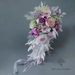 Bouquet de la Mariée de Fleurs Artificielles en Cascade | Fleurs Artificielles | Renoncules Artificielles | Bouqueternel