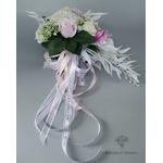 Bouquet de Mariée Artificiel en Cascade | Fleurs Artificielles | Renoncules Artificielles | Bouqueternel