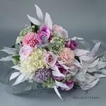 Bouquet de Mariée Artificiel Cascade | Fleurs Artificielles | Renoncules Artificielles | Bouqueternel