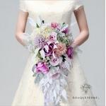 Bouquet Mariée Artificiel Cascade | Fleurs Artificielles | Renoncules Artificielles | Bouqueternel