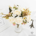 Centre de Table de Mariage Fleurs   Bouquet Artificiel   Roses Artificielles   Bouqueternel