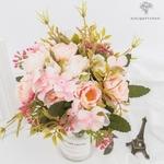 Centre de Table Mariage Bouquet de Fleurs   Bouquet Artificiel   Roses Artificielles   Bouqueternel