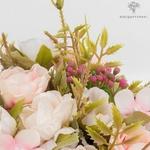 Centre de Table Mariage Bouquet de Fleurs Artificielles   Bouquet Artificiel   Roses Artificielles   Bouqueternel