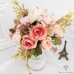 Centre de Table Mariage Fleurs   Bouquet Artificiel   Roses Artificielles   Bouqueternel
