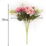 Fleurs Artificielles Pas Cher Cimetière Pivoine Artificielle Dimensions Bouqueternel