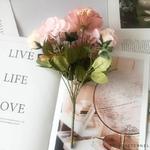 Décoration de Table Ronde pour Mariage Violettes | Bouquet Artificiel | Roses Artificielles | Bouqueternel