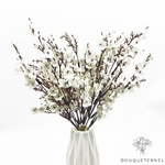 Centre de Table de Mariage Original Blanc | Bouquet Artificiel | Magnolias Artificielles | Bouqueternel